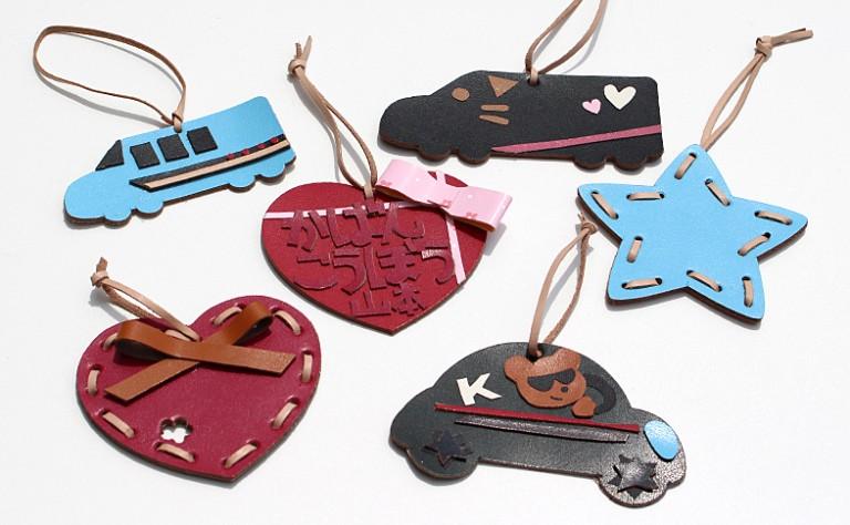 【奈良本店・銀座店】2・3月のワークショップ「ランドセルの革でキーホルダーづくり」を開催します。