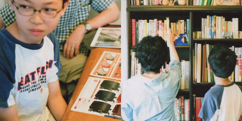 鞄工房山本「ランドセルと6年間の思い出 東京都 シュンくん」