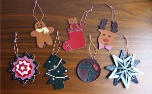 【奈良本店・銀座店】11・12月のワークショップ「ランドセルの革でクリスマスのオーナメントづくり」を開催します。