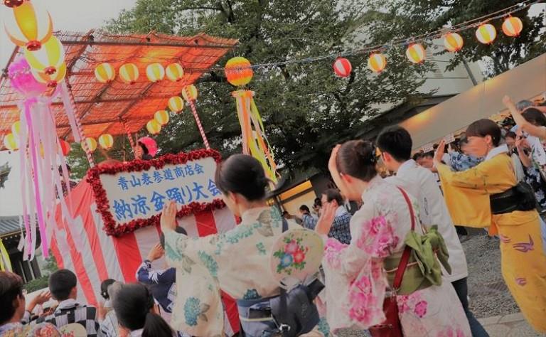 【鞄工房山本 表参道店】ダシキに浴衣、サンバも盆踊りも!色んな夏祭りに行ってみよう!