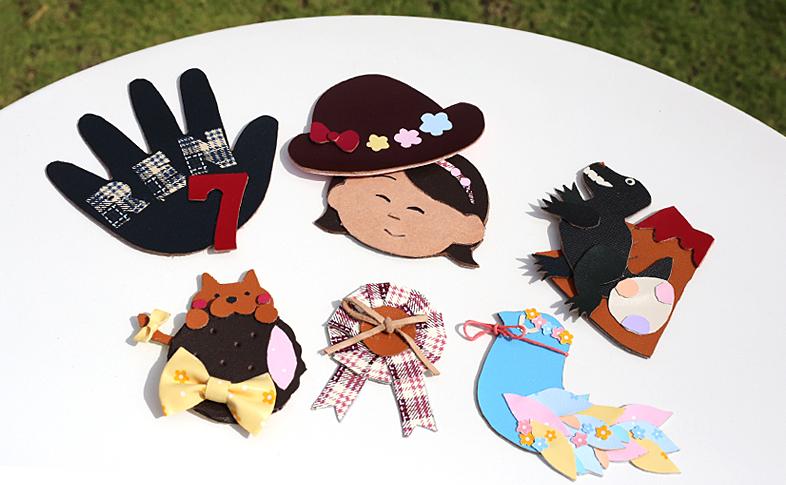 【奈良本店・銀座店】9月のワークショップ「ランドセルの革でブローチづくり」を開催します。
