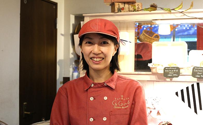 素敵な笑顔の原田さん