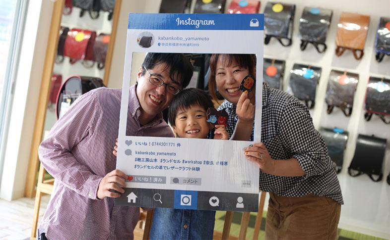【鞄工房山本 奈良本店】「ランドセルの革でハロウィンのマグネットづくり」を開催しました!