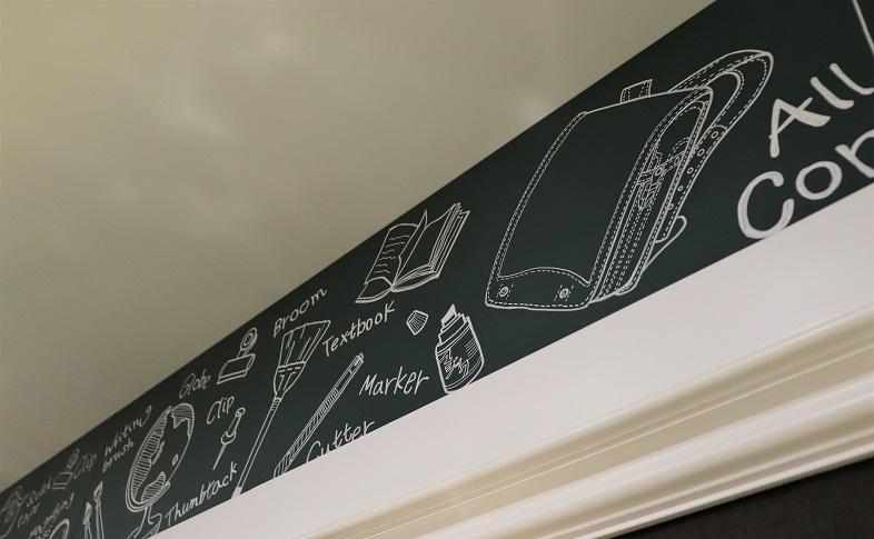 黒板風壁紙