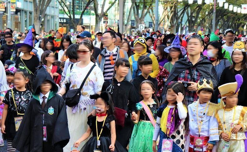 原宿表参道ハローハロウィーンパンプキンパレード01