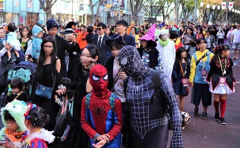 原宿表参道ハローハロウィーンパンプキンパレード02