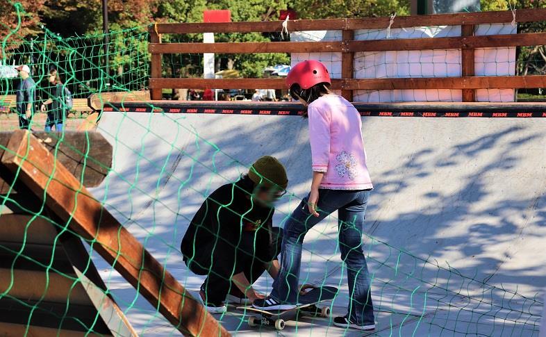 スケートボード体験