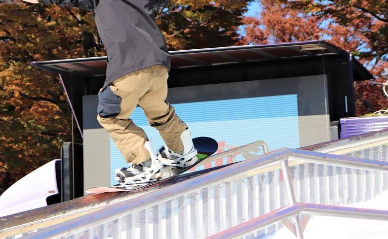 プロスノーボーダー練習風景04