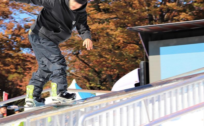 プロスノーボーダー練習風景05