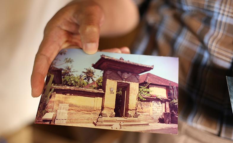 バリのご実家の写真