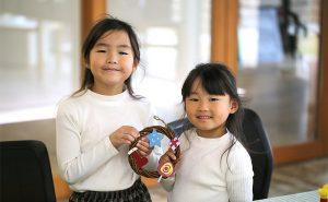 【奈良本店】「ランドセルの革でクリスマスリースづくり」を開催!