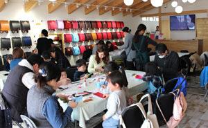 【奈良本店】2・3月のワークショップ「ランドセルの革でレザークラフト体験」を開催しました!