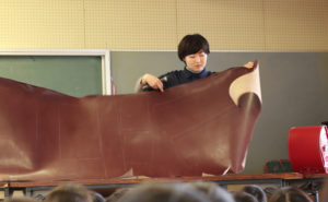 【鞄工房山本】畝傍東小学校にて「出張授業」を行いました!