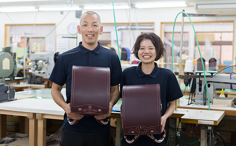 【鞄工房山本 奈良本店】ランドセル工房にて「ランドセル贈呈式」を開催いたします!